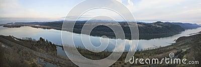 Columbia River Gorge Panorama