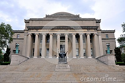 Columbia University Library in New York City