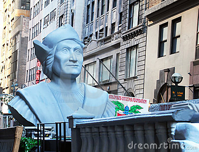 Columbus Day Parade Editorial Stock Photo