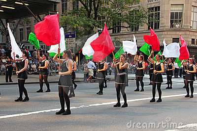 Columbus Day Parade Editorial Photo