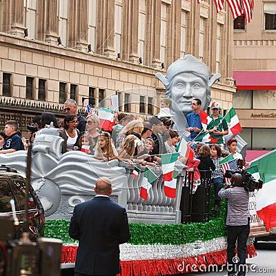Columbus Day Parade Editorial Image