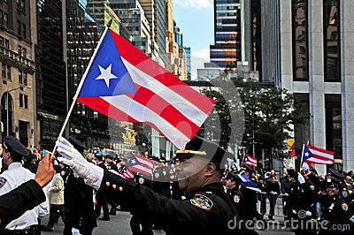 Columbus Day Parade in New York City Editorial Photography