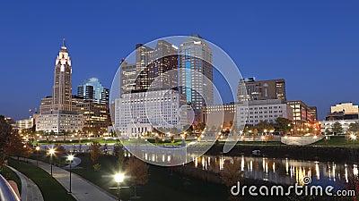 Columbus, USA 4K stock video