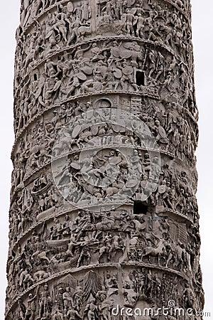 Column of Marcus Aurelius Details