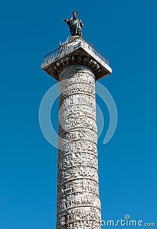 Column of Marcus Aurelius, Rome, Italy