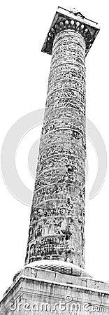 Column of Marcus Aurelius, Rome (ITaly).