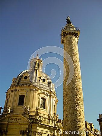 Column of Marcus Aurelius - Rome, Italy