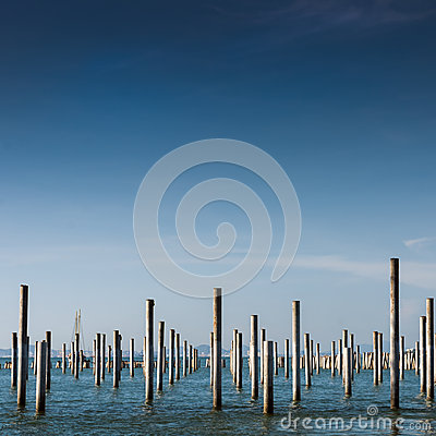Column in the sea