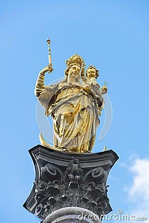 Column St. Mary Munich
