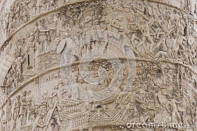 Column of Trajan detail