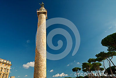 Column of Trajan in Rome