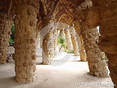 Columna de piedra