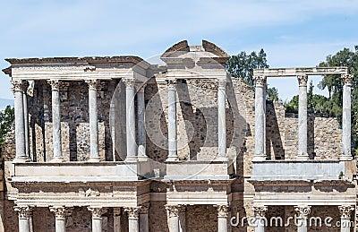 Columns amphitheatre