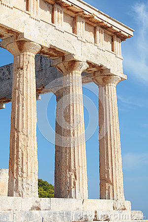 Columns of Aphaia