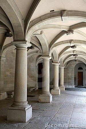 Columns And Arches Royalty Free Stock Images Image 9886509