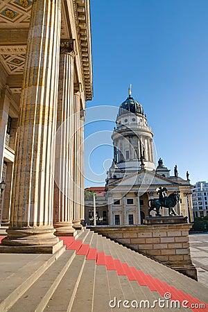 Free Columns At The Gendarmenmarkt Royalty Free Stock Photos - 19940838