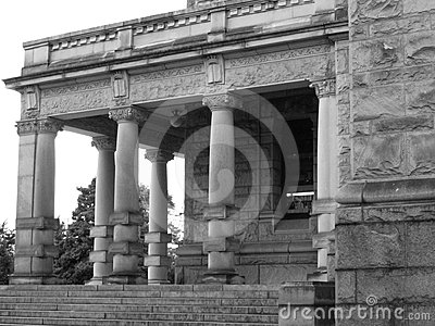 Columns in Black and White