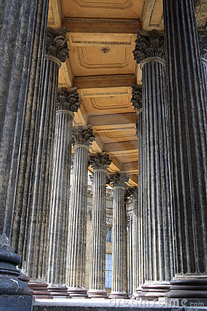 Columns of church