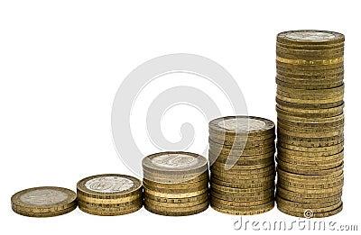 Columns of coins 3