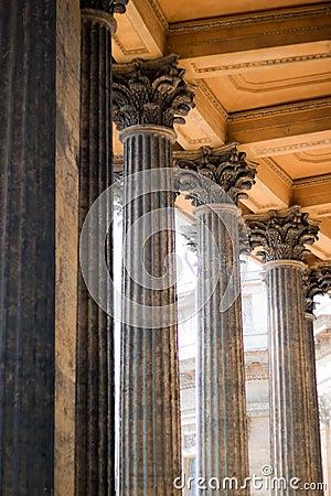 Columns Of Kazan Cathedral