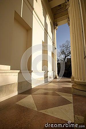 Columns of museum
