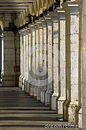 Columns, Nice , france