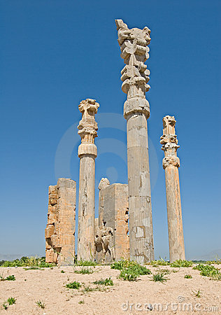 Free Columns Of Ancient City Royalty Free Stock Image - 2545766