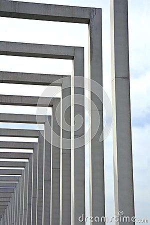 Free Columns Of Concrete Stock Photos - 9240813