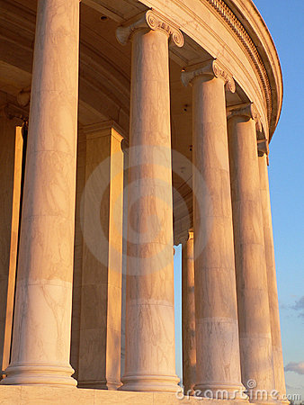 Free Columns Of The Jefferson Memorial Stock Images - 633624