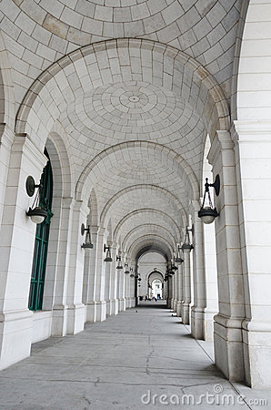 Free Columns Of Union Station In Washington DC USA Royalty Free Stock Image - 20992766
