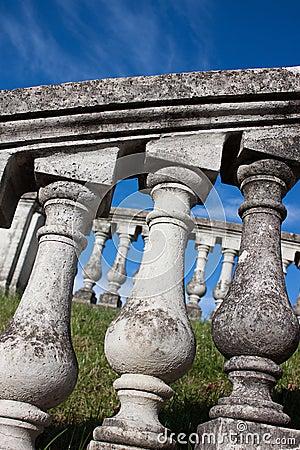 Columns of old Ladder