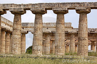 Columns at Paestum
