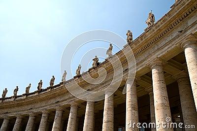 Columns at Saint Peters Square