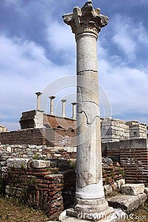 Columns at St John s Church