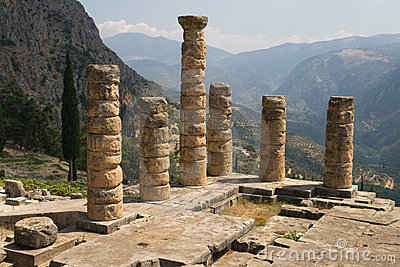 Columns of Temple of Apollo
