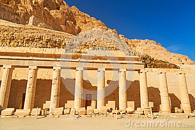 Columns in the Temple of Queen Hatshepsut