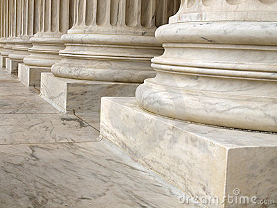 Columns at the United States Supreme Court