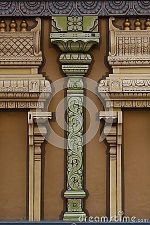 Colunas abstratas