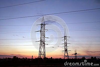 Colunas elétricas