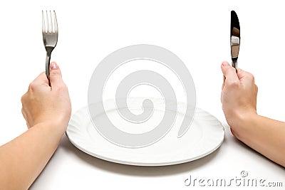Com fome