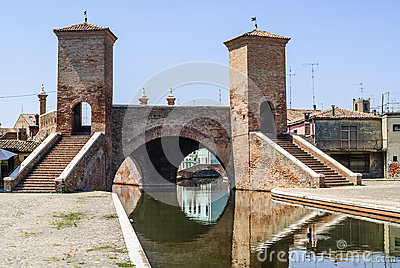 Comacchio - Famous bridge
