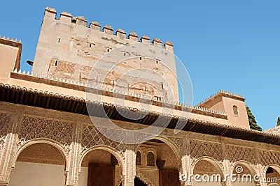 Comares Tower in Granada