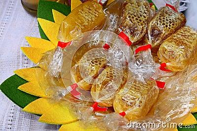 Comb with honey