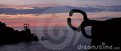 Comb of the Wind (Peine del viento, Chillida).