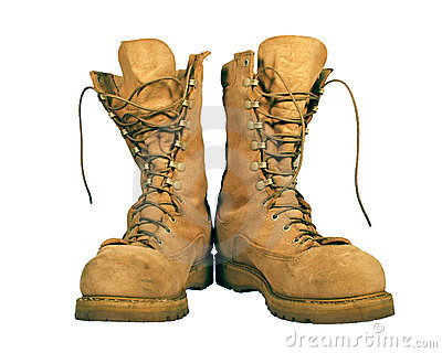 Combat Boots Royalty Free Stock Photography - Image: 11300767