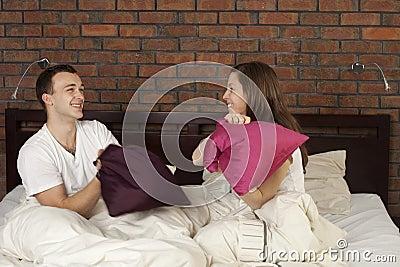 Combat d oreiller