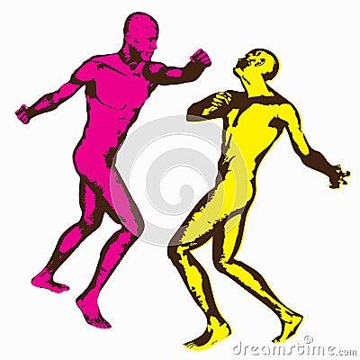 Combat de poing