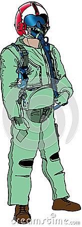 Combat pilot