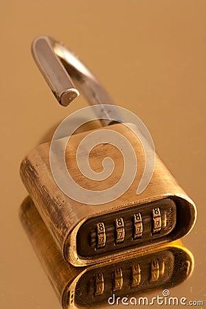 Free Combination Lock Stock Image - 14312671