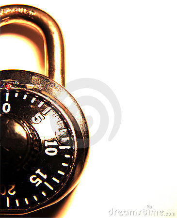 Free Combination Lock Royalty Free Stock Image - 35486